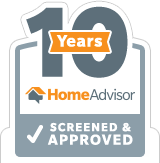 10 Years Screened & Approved HomeAdvisor