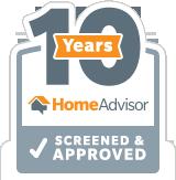 HomeAdvisor Tenured Pro - Gutters Xpress