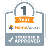 Eastern Overhead Door celebrates 1-year with Home Advisor in <Location>