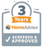 HomeAdvisor Tenured Pro - Jensen Designs, LLC