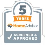 HomeAdvisor Tenured Pro - Advanced Seamless Gutters, Inc.