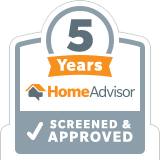 HomeAdvisor Tenured Pro - Advanced Seamless Gutters, Inc.