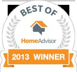 Best of HomeAdvisor - Fredericksburg Winner
