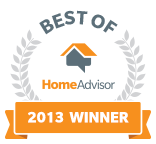 B & K Electric, LLC is a Best of HomeAdvisor Award Winner