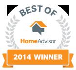 Aerus Electrolux is a Best of HomeAdvisor Award Winner