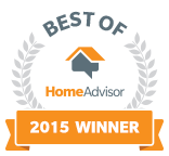 Partin Appraisal is a Best of HomeAdvisor Award Winner