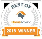 Patriot Air, Inc. is a Best of HomeAdvisor Award Winner