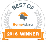 W. P. Broms, Inc. is a Best of HomeAdvisor Award Winner