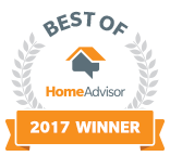 33rd Garage Door Services, Inc. is a Best of HomeAdvisor Award Winner