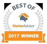 PJ's Plumbing is a Best of HomeAdvisor Award Winner