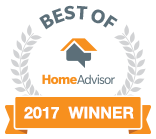 Best of HomeAdvisor - 2017 Winner
