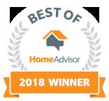Brainard's Greenscapes is a Best of HomeAdvisor Award Winner