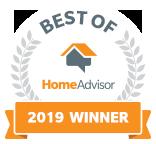 B's Carpet Cleaning is a Best of HomeAdvisor Award Winner