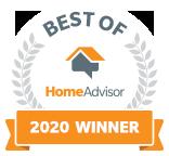 Core Landscape, LLC is a Best of HomeAdvisor Award Winner