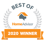 Brooks Heating & Air is a Best of HomeAdvisor Award Winner