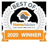 Urbanac is a Best of HomeAdvisor Award Winner