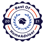 Best of the Best Blinds & Designs, LLC is a Best of HomeAdvisor Award Winner