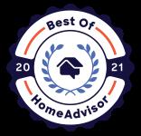 Garage Force Mountain View is a Best of HomeAdvisor Award Winner
