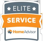 HomeAdvisor Elite Service Award - Five Star Painting