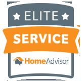 Elite Service Home Advisor badge