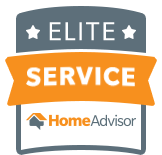 Quality Service Cleaners HomeAdvisor Credentials. Elite Service.