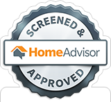 Screened & Approved by HomeAdvisor Badge