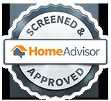 HomeAdvisor Screened & <center>Approved