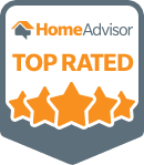 HomeAdvisor Credentials. Top Rated.