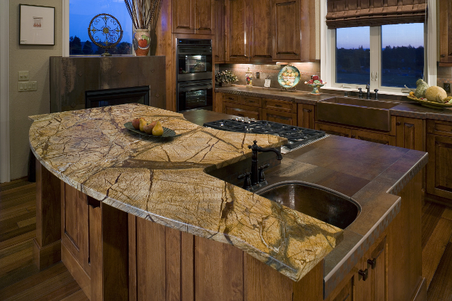 New Countertop Materials 2014 : Kitchen Countertop Ideas A Fresh Look at Kitchen Counters