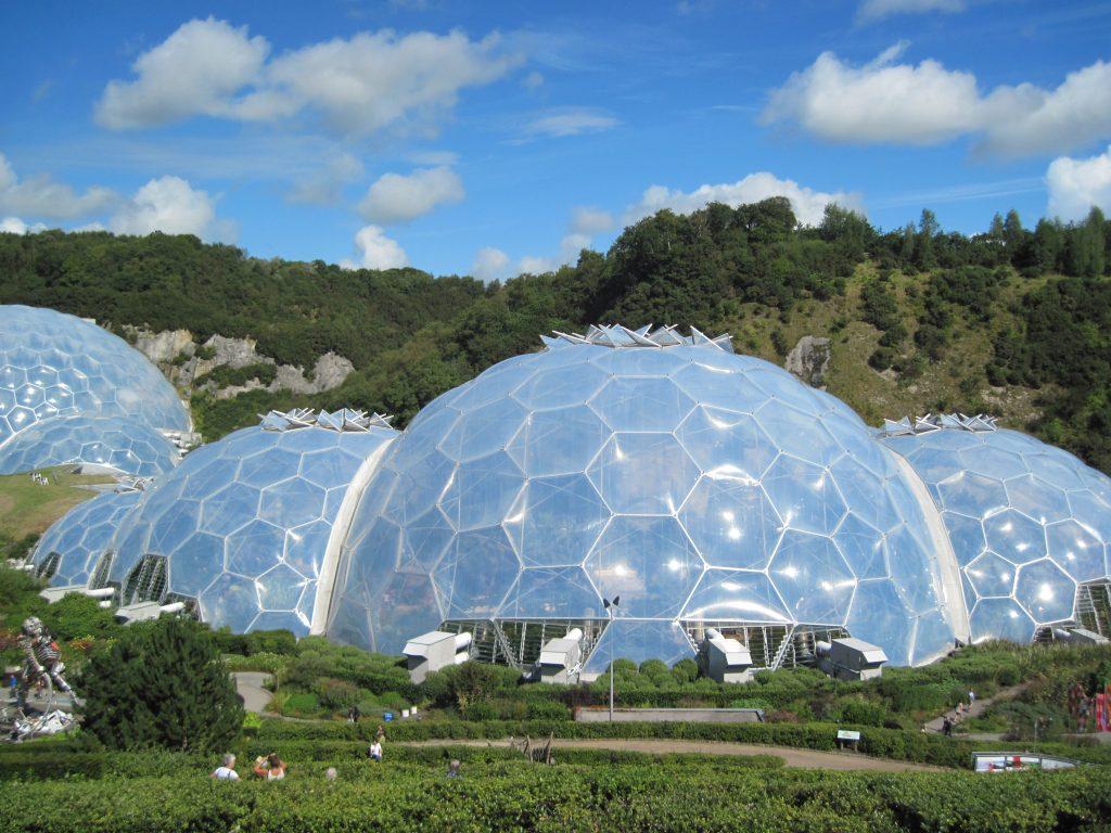 Biodomes at Eden