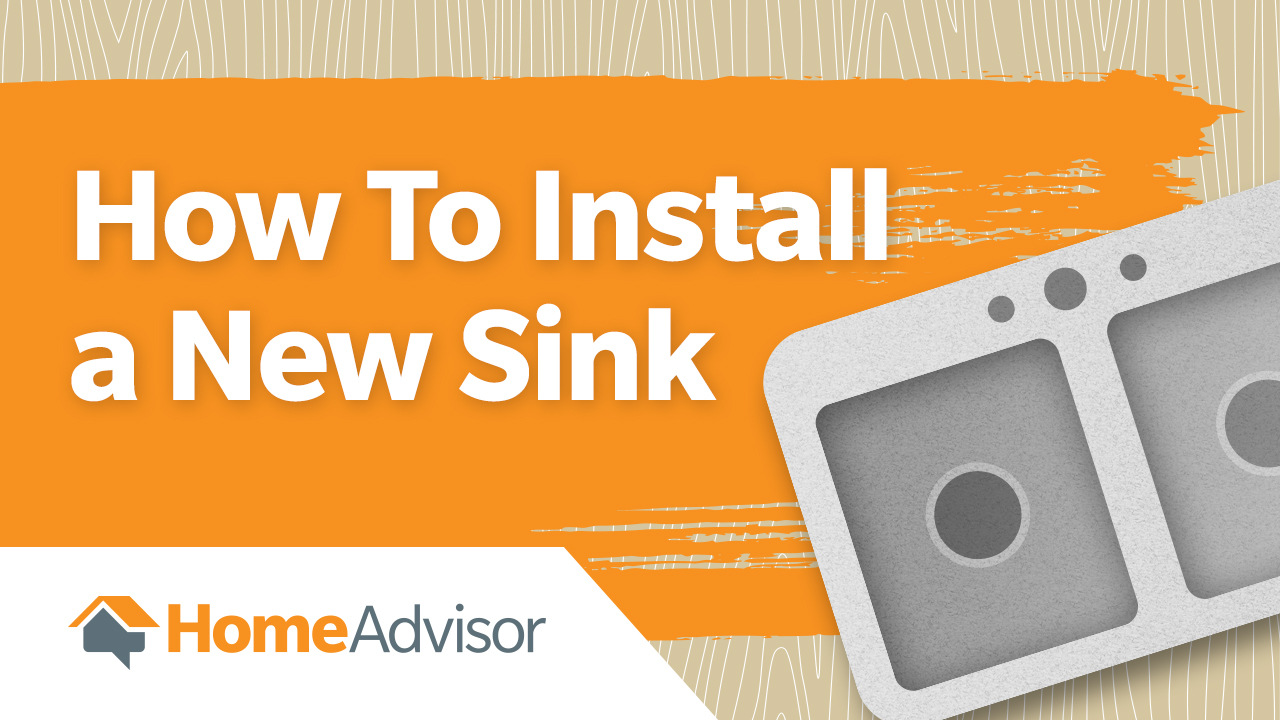 how to replace a bathroom sink how to install a new kitchen or bathroom sink homeadvisor 25501