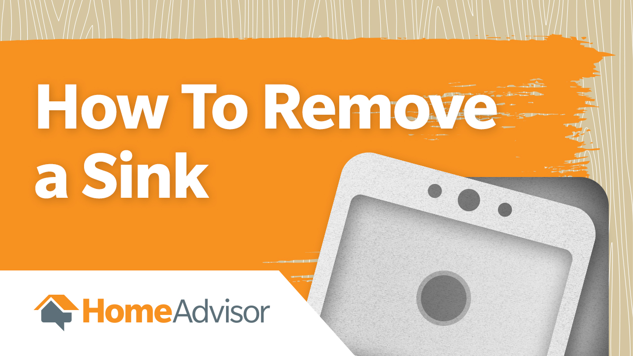 how to remove a sink kitchen bathroom sink removal - How To Remove A Kitchen Sink