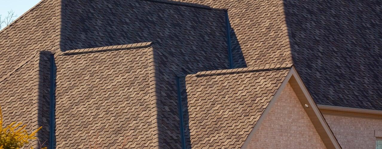 designer shingle roof