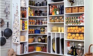 Organizing kitchen