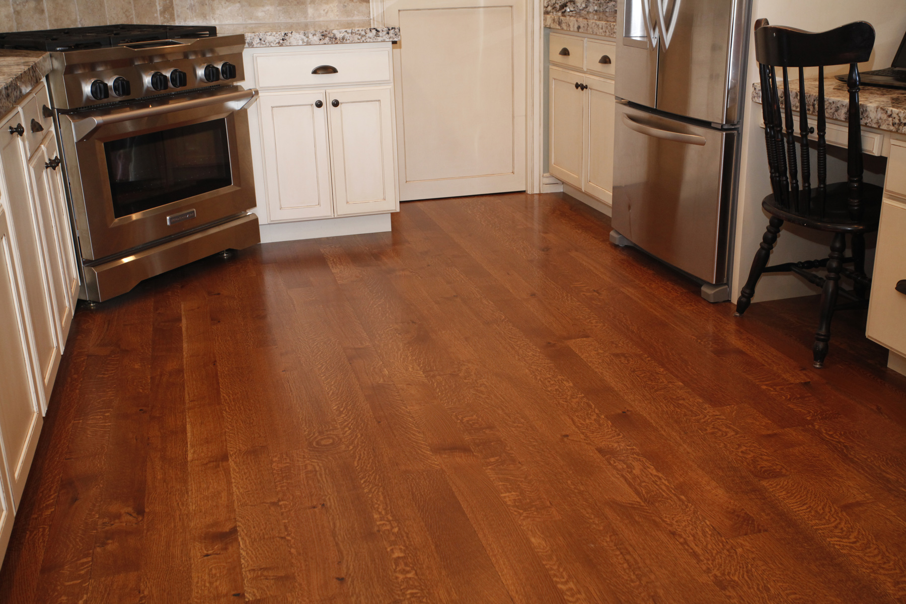 1 simple trick to remove scratches from your wood floors for Hard laminate flooring
