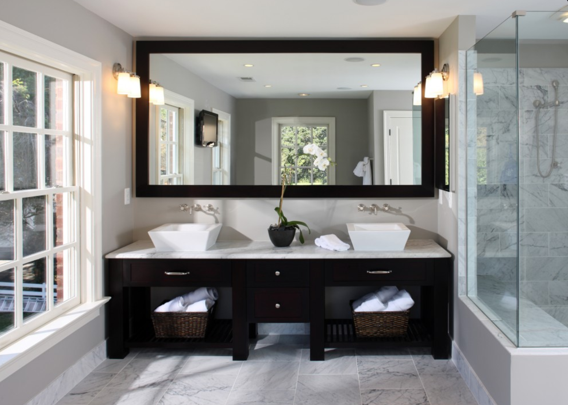 Master Bathroom Designs 2016 2015/2016 bathroom remodel trends | homeadvisor