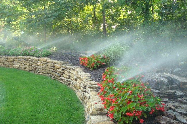 Drip irrigation how it works homeadvisor for Home garden drip irrigation design