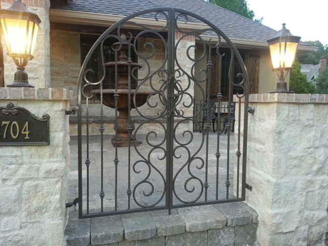 About Wrought Iron Gates Types Of Iron Gates And