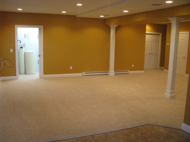 Which carpet is best for a basement basement carpeting tips for Best flooring for basement family room