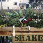 Winter flower box
