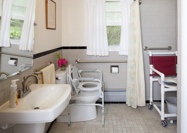 modified bathroom for seniors - Home Design Tips