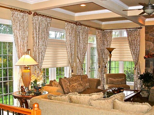 Fabric window treatments