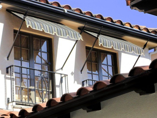 Window And Door Awnings Add Curb Appeal HomeAdvisor