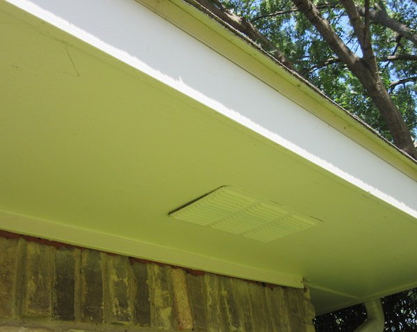 how to clear soffit vent in attic