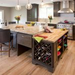 Undercabinet wine storage