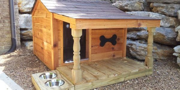 Dog House Plans - custom plans, kits, assembly, & dog fences