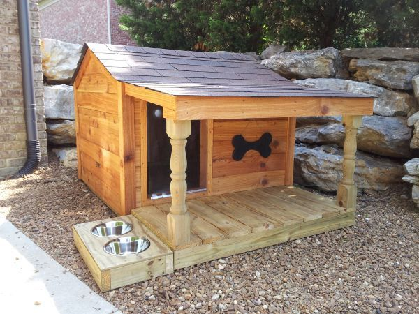 dog house plans - custom plans, kits, assembly, & dog fences