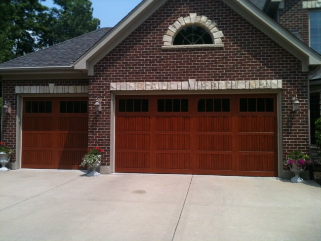 Overhead garage doors retractable garage doors for Swing out garage doors price