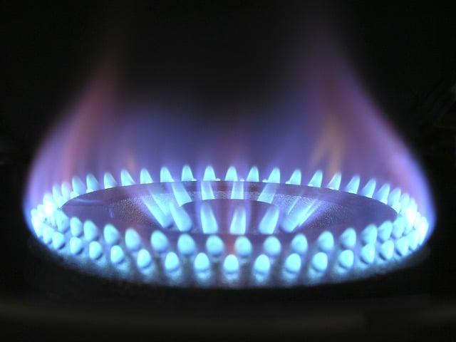 Dangerous stove flame