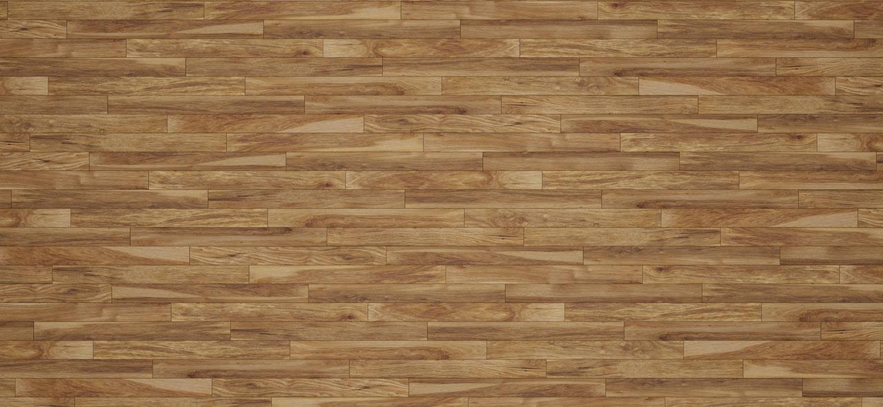 Hickory hardwood flooring texture closeup.